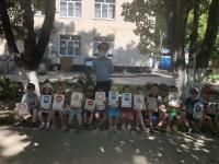 Лето: дети и дорога.