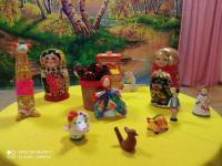 «Народная игрушка в жизни детей»